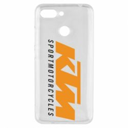 Чехол для Xiaomi Redmi 6 KTM Sportmotorcycles