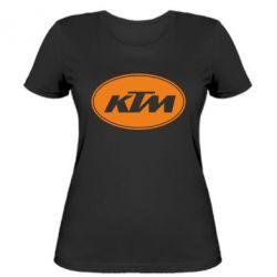 Женская футболка KTM - FatLine