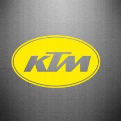 Наклейка KTM - FatLine