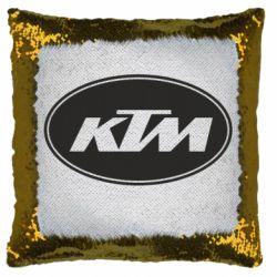 Подушка-хамелеон KTM