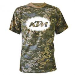 Камуфляжная футболка KTM - FatLine