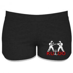 Женские шорты Kudo Fight - FatLine