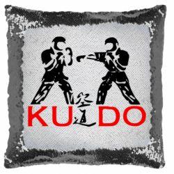 Подушка-хамелеон Kudo Fight