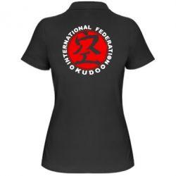 Женская футболка поло Kudo - FatLine