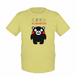 Дитяча футболка Kumamon