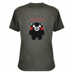 Камуфляжна футболка Kumamon