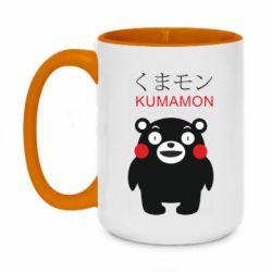 Кружка двоколірна 420ml Kumamon