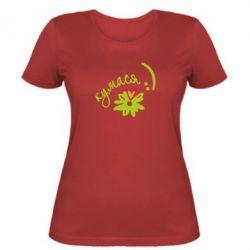 Женская футболка Кумася