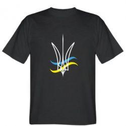 Мужская футболка Кумедний герб України - FatLine