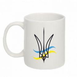 Кружка 320ml Кумедний герб України - FatLine