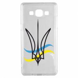 Чохол для Samsung A5 2015 Кумедний герб України
