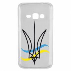 Чохол для Samsung J1 2016 Кумедний герб України
