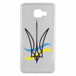 Чохол для Samsung A7 2016 Кумедний герб України