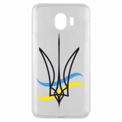 Чохол для Samsung J4 Кумедний герб України