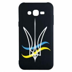 Чохол для Samsung J7 2015 Кумедний герб України