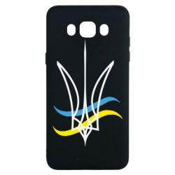 Чохол для Samsung J7 2016 Кумедний герб України