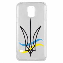 Чохол для Samsung S5 Кумедний герб України