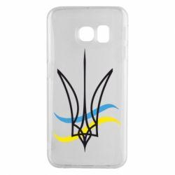 Чохол для Samsung S6 EDGE Кумедний герб України