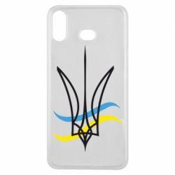 Чохол для Samsung A6s Кумедний герб України