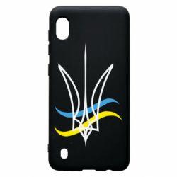 Чохол для Samsung A10 Кумедний герб України