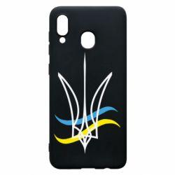 Чохол для Samsung A20 Кумедний герб України
