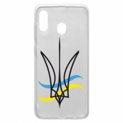 Чохол для Samsung A30 Кумедний герб України