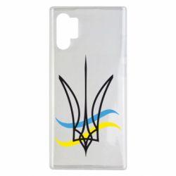 Чохол для Samsung Note 10 Plus Кумедний герб України