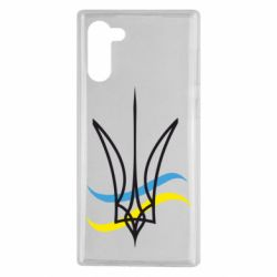 Чохол для Samsung Note 10 Кумедний герб України