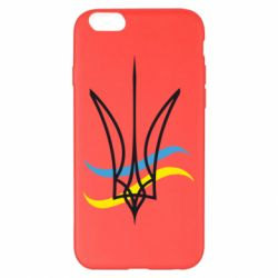 Чохол для iPhone 6 Plus/6S Plus Кумедний герб України
