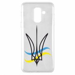 Чохол для Samsung A6+ 2018 Кумедний герб України