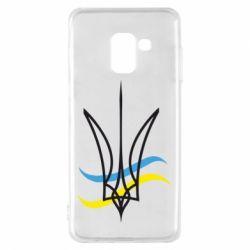 Чохол для Samsung A8 2018 Кумедний герб України