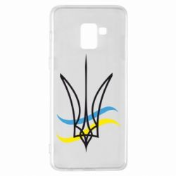 Чохол для Samsung A8+ 2018 Кумедний герб України