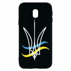 Чохол для Samsung J3 2017 Кумедний герб України