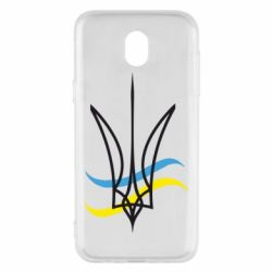 Чохол для Samsung J5 2017 Кумедний герб України