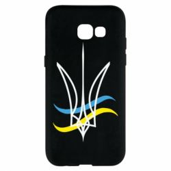 Чохол для Samsung A5 2017 Кумедний герб України