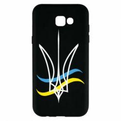 Чохол для Samsung A7 2017 Кумедний герб України