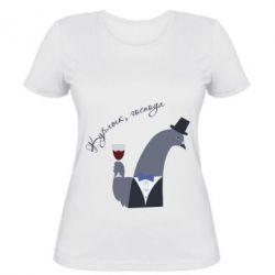 Жіноча футболка Kurlyk gentlemen!