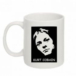 Кружка 320ml Kurt Cobain Face - FatLine