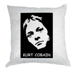 Подушка Kurt Cobain Face