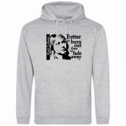 Толстовка Kurt Cobain - FatLine