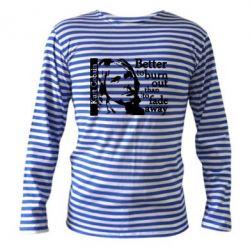 Тельняшка с длинным рукавом Kurt Cobain - FatLine