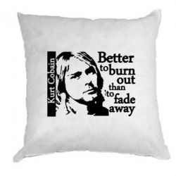 Подушка Kurt Cobain - FatLine