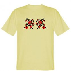 Мужская футболка Квітковий орнамент - FatLine