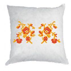 Подушка Квітковий орнамент - FatLine