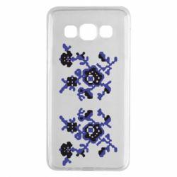 Чехол для Samsung A3 2015 Квітковий орнамент - FatLine