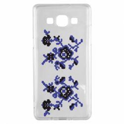 Чехол для Samsung A5 2015 Квітковий орнамент - FatLine