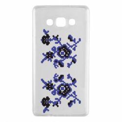Чехол для Samsung A7 2015 Квітковий орнамент - FatLine