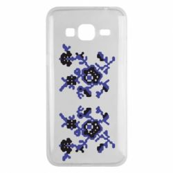 Чехол для Samsung J3 2016 Квітковий орнамент - FatLine