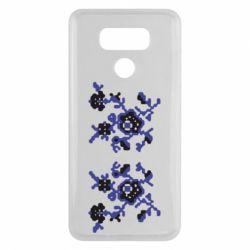 Чехол для LG G6 Квітковий орнамент - FatLine
