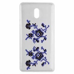 Чехол для Nokia 3 Квітковий орнамент - FatLine
